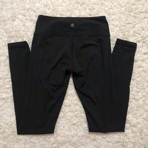Black SIZE 4 Align Lululemon Leggings